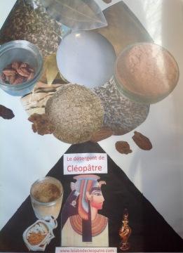 Panneau détergent de Cléopâtre