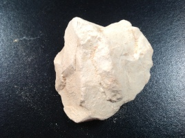 Bloc d'argile blanche